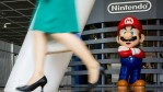 Super Mario and a Lady