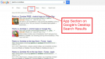 App Results on Google, Yay
