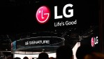 Attendees walk through the LG booth at CES 2016 at the Las Vegas Convention Center on January 6, 2016 in Las Vegas, Nevada.