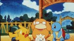 Pikachu Psyduck Togepy Squirtle In The Animated Movie Pokemon:The First Movie