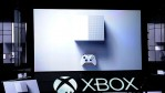 The new Microsoft Xbox One S console is announced during the Microsoft Xbox news conference at the E3 Gaming Conference on June 13, 2016 in Los Angeles, California. The One S is slated to launch in Au